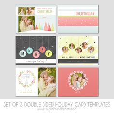 Hey, I found this really awesome Etsy listing at https://www.etsy.com/listing/202447186/5x7-christmas-card-template-set-of-3