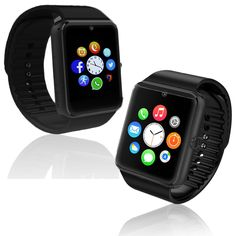 NEW! GSM Bluetooth Watch Cell Phone Touch Screen MP3 Spy Camera ~AT&T / T-Mobile. Watch, Cell phone, MP3 player, camera, video camera, media player, all in one. GSM Unlocked Watch Phone - work with AT&T / T-mobile/ Straightalk etc. - Quad band (850MHz, 900MHz, 1800MHz, 1900MHz). Accurate and responsive touch screen for smooth navigating. Comfortable and Light: this watch smartphone comes with a light watch frame and elastic wrist strap that is as comfortable as it is durable. Comes with...