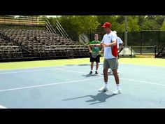 Bryan Brothers Tennis Lesson