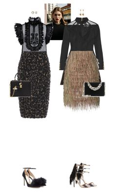 """""""Penelope Rheya & Rhoswen Claire #7366"""" by canlui ❤ liked on Polyvore featuring Balmain, Burberry, E L L E R Y, ALEXA WAGNER, Jimmy Choo, Miu Miu, Dolce&Gabbana, Lagos and J.W. Anderson"""