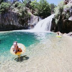 Fossil Creek, Strawberry, AZ, Coconino National Forest