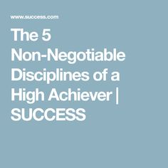 The 5 Non-Negotiable Disciplines of a High Achiever Smart Goal Setting, Goal Journal, Creating A Vision Board, Heres To You, Business Goals, Positive Thoughts, Personal Development, Healthy Life, Coaching