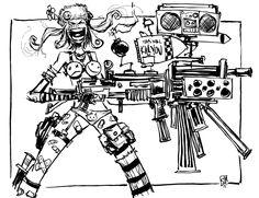 Tank Girl by Skottie Young