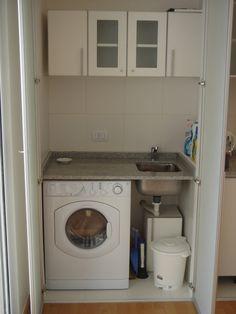 lavadero integrado a la cocina - Buscar con Google