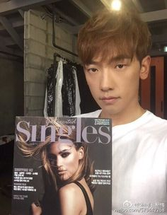 [2 images][21 caps][video] Rain to cover & feature in Singles Korea 싱글즈 Magazine's January 2016 issue.