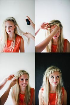 HOW TO: Braided Bangs