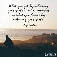Go after your goals because they will change you. #quotestoliveby #quotiful #quotes #quoteoftheday #quotesdaily #inspiration #inspirational #inspiring #inspirationalquotes #dailyquote