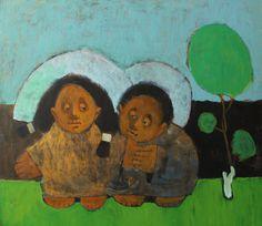 Love Painting Mixed Media Love Art Bedroom от ARTGALERYPAINTING