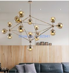 Free shipping New Modern Modo Round Glass DNA Pendant Lamp loft style pendant  Lights for living room dinning room home deco