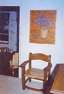 Marilyn's sunroom, 1962.