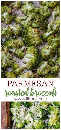 Roasted Broccoli Recipe, Broccoli Recipes, Vegetable Recipes, Vegetarian Recipes, Cooking Recipes, Healthy Recipes, Parmesan Broccoli, Cooking Broccoli, Healthy Meals
