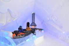 People inside the ice hotel in Quebec City during Quebec Winter Carnival, one of the best places to visit in Canada in February Beautiful Places To Visit, Cool Places To Visit, Places To Go, Old Quebec, Quebec City, Facts About Canada, Quebec Winter Carnival, Best Instagram Photos, Instagram Travel