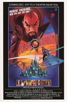 FLASH GORDON POSTER (1980).