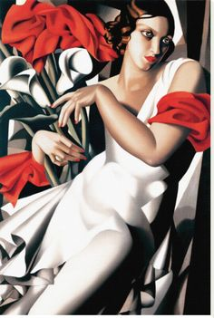 EuroGraphics Portrait of Ira by Tamara de Lempicka Puzzle. Of all the artists pursuing the Art Deco style, one of the most memorable was Tamara De Lempicka. With French origins, Deco was part of an exotic, sexy, and glamorous Paris. Art Deco Paintings, Art Deco Artists, Modern Artists, Oil Paintings, Painting Art, Jeanne Toussaint, Pinturas Art Deco, Tamara Lempicka, Moda Art Deco