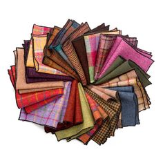Luxurious Donegal #tweed #pocketsquares. Designed and #handmade in #Ireland.