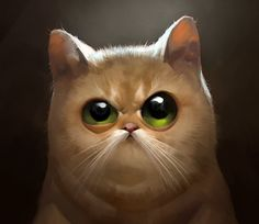 Don't  mess with a Cat ! , Viktor Titov on ArtStation at https://www.artstation.com/artwork/don-t-mess-with-a-cat