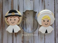 Pilgrim Cookies With Ring Cutter