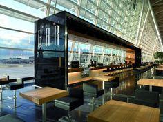 Center Bar at Zurich Airport, Switzerland.   10 Spectacular Airport Lounges Around The Globe Impress With Their Unique Designs #restaurantdesign