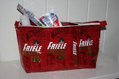 Friele toalettveske - Redesign og gjenbruk - Gallery - Visyr.no