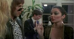 Fran Drescher in This is Spinal Tap. Love her hair and Make-up (1984)
