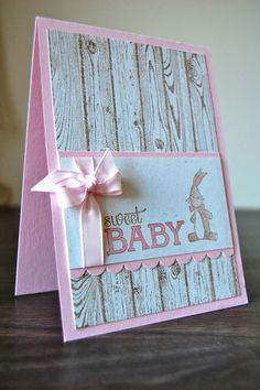 UK Independent Stampin' Up! Demonstrator - Julie Kettlewell: Baby Cards