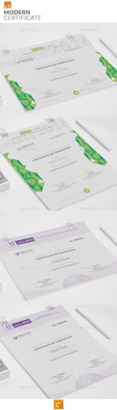 Easy Simple Multipurpose Certificate GD007 Certificate design - certificate designs templates