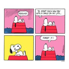 Wednesday with Snoopy.