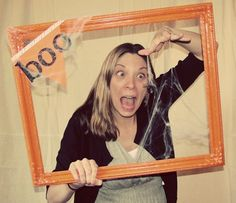 Easy Halloween Photo Booth by DIY Louisville                                                                                                                                                                                 More