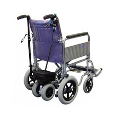 The Roma Power Pack can be easily fitted to manual wheelchairs to assist an attendant or carer whilst pushing a wheelchair user.