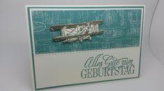 Schöne Papeterie: Die männliche Geburtstagskarte