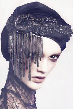 Embellished turban