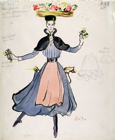 My Fair Lady costume design by Cecil Beaton by BFI Online, via Flickr