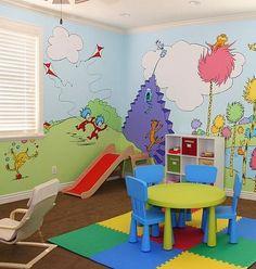 dr. seuss decoration ideas | ... pics at: http://www.sisteroo.com/2011/08/dr-seuss-playroom.html