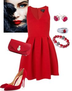 """Dress for the holidays"" by kalliopaki on Polyvore"