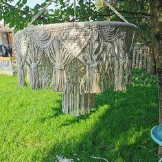 4 mm Macrame cord macrame rope macrame supplies macrame | Etsy Macrame Supplies, Macrame Projects, Something Beautiful, Beautiful Wall, Macrame Cord, Off White Color, Chunky Yarn, Cotton Rope, Flower Pots