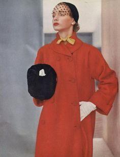 50s red coat