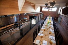 take a sneak peak at private dining room @agricolastreet on the OpenKitchen tour with us Saturdays