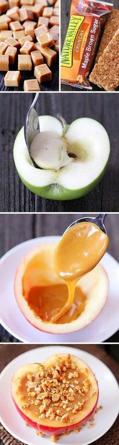 Sky Desserts: Inside-Out Caramel Apples