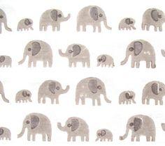 Lulu & Nat | elephant fabric