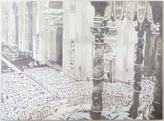 Luc Tuymans Rome 2007 Oil on canvas 91 1/8 x 123 inches (231.5 x 312.5 cm)