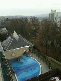 Danubius Health Spa Resort Hévíz - the outdoorl pool