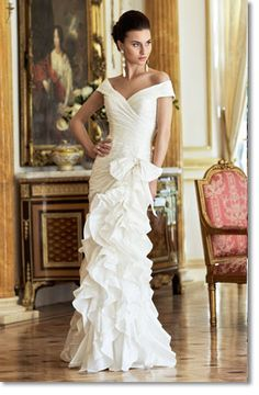 love the shoulders Costa Rica by  Ian Stuart Bridal