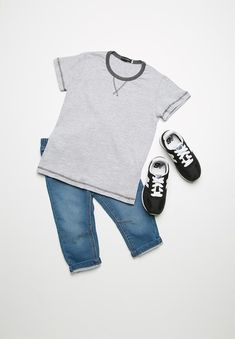 A summer must-have, this simple tee will have junior looking and feeling cool all season long. Stock up on a few of them for effortless everyday styling. Must Haves, Cool Stuff, Sweatshirts, Tees, Sweaters, Fashion, Moda, T Shirts, Sweater