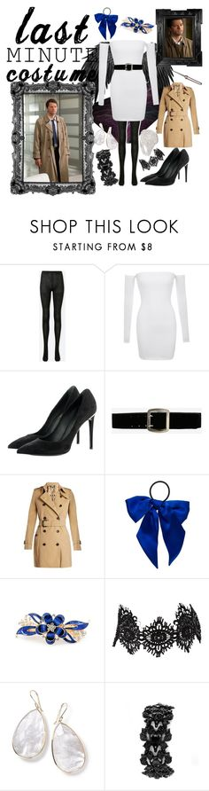 """""""Castiel from Supernatural"""" by fandom-girl365790 ❤ liked on Polyvore featuring Uniqlo, Louis Vuitton, Express, Burberry, Linda Horn, L. Erickson, Amrita Singh, Ippolita and Shay"""