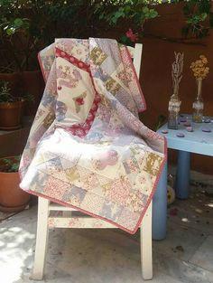Baby quilt by MagicThreadByNatalia on Etsy