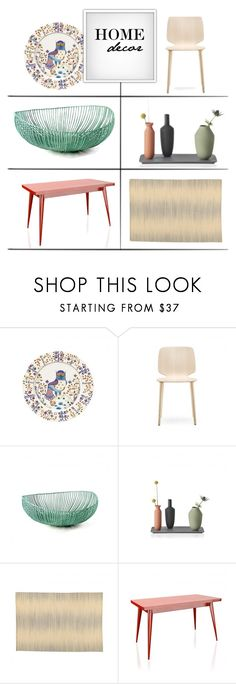 """""""Dining Room"""" by lovethesign-shop ❤ liked on Polyvore featuring interior, interiors, interior design, home, home decor, interior decorating, Muuto, dining room, Home and dining"""