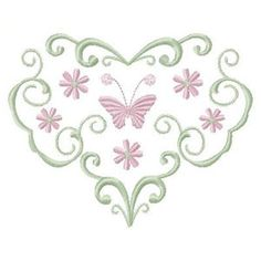 Elegant Hearts - Free Instant Machine Embroidery Designs