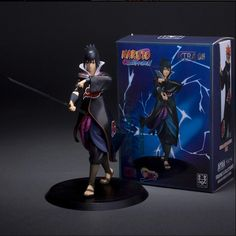 Naruto Uchiha Sasuke PVC Action Figure - OtakuForest.com
