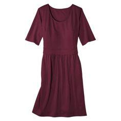 workwear dresses // Merona® Women's Plus-Size Elbow-Sleeve Ponte Dress - Assorted Colors
