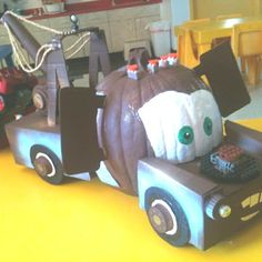 Cars Pumpkin